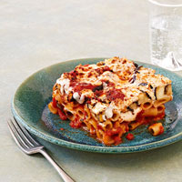 Baked Ziti with Eggplant