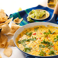 Apps in a Snap: Spicy Cilantro Queso