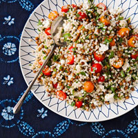 Lentil-Couscous Salad