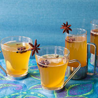 Spiced Mulled White Wine