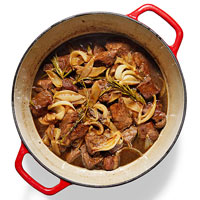 Beer-Braised Beef