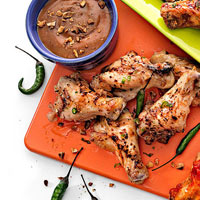 Baked Coconut Chili-Lime Wings