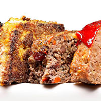 Healthy Bison and Quinoa Meatloaf