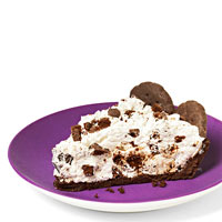 Thin Mint Cookies and Cream Pie