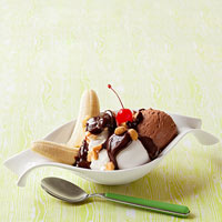 Chocolate Mousse Sundaes