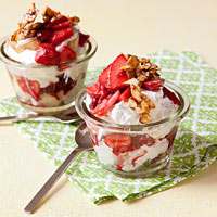 Angel-Berry Parfaits