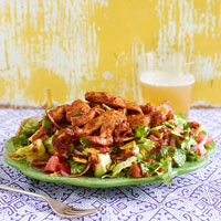 Chipotle Chicken Tortilla Salad