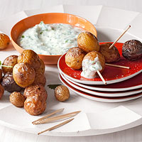Smoky Spuds and Dip