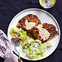 Chicken-Fried Steak with White Gravy