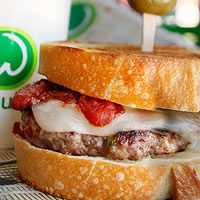 Meatball Patty Melt