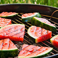 Grilled Watermelon and Haloumi Salad