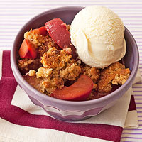 Cherry-Plum Crumble