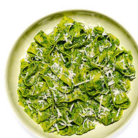 Pappardelle with Kale Pesto
