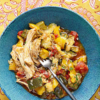 Chicken Skillet Ratatouille