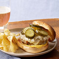 German-Style Turkey Burgers