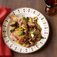 Sicilian Chicken with Red Potatoes