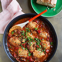 Red Chicken Marsala