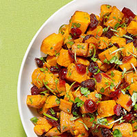 Sweet Potatoes with Cilantro