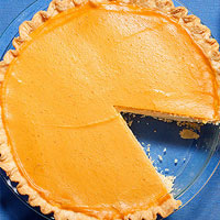 Maple-Pumpkin Cream Pie