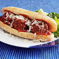 Lamb Meatball Subs