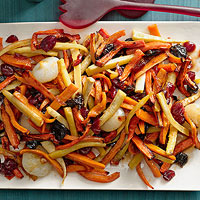 Roasted Root Vegetable Tzimmes