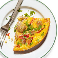 Turkey Meatball Frittata