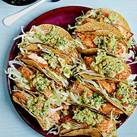 Fish Tacos with Corny Guac