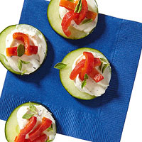 Loaded Cucumber Rounds