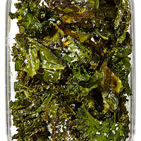 Cheesy Kale & Collard Chips