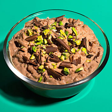 Chocolaty Rice Pudding