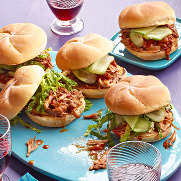 Cola Pulled Pork Sandwiches