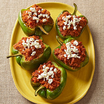Pork & Quinoa-Stuffed Peppers
