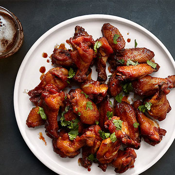 Sweet Chile Hot Wings