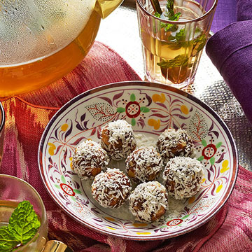 Spiced Date-Walnut Balls