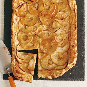 Apple Galette with Cider Drizzle