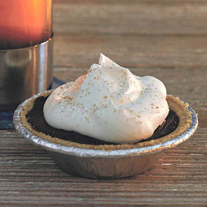 Individual Chocolate Silk Pies