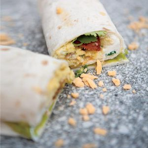 Spanish Breakfast Wraps
