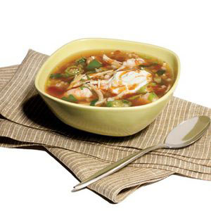 Bayou Turkey-Barley Chowder