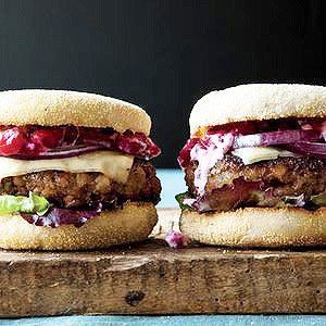Turkey Meatloaf Burgers
