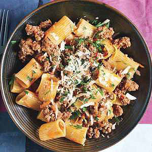 Rigatoni with Lamb