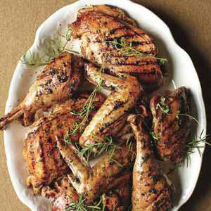 Fresh Herb Grilled Turkey