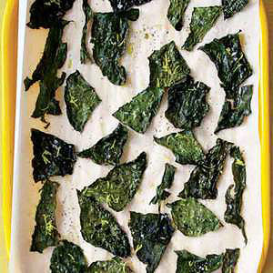Lemon Pepper Kale Chips