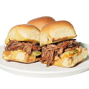 Barbecue Brisket Sliders
