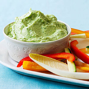 Creamy Avocado-Cilantro Dip