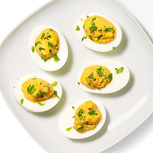 Huevos Rancheros Deviled Eggs
