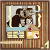 CREATE PAPER PIECINGS TO EMBELLISH FAMILY-THEME SCRAPBOOK PAGES