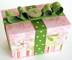 Pink-And-Green Box