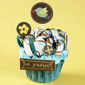 Paper Cupcake Decoration
