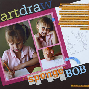 Scan And Scrapbook A Child?s Artwork