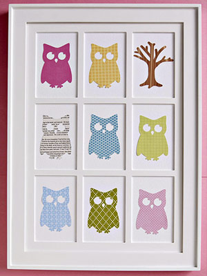 FRAME FAVORITE DIE CUTS FOR WALL D�COR